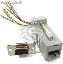 Configurable Adapter-DB9H RJ45H (CS71)