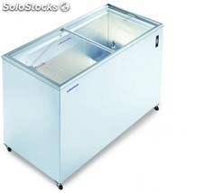 Congelador horizontal glas-top