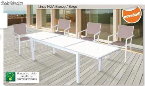 Mobiliario Jardin. Finest Sof Dos Plazas Serena Natural With ...