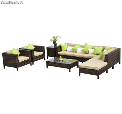 Preview for Conjunto muebles jardin