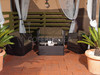 Conjunto muebles rattan profer green