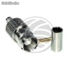 Connector female BNC coaxial cable (RG58) (RC10)