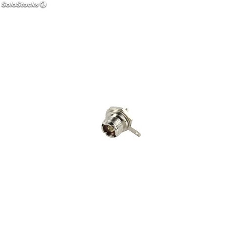 Connector uhf female metal silver