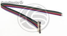 Connector with cable for RGB LED strip of 12 mm (VH06)