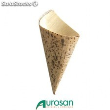 Cono biodegradable