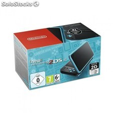 Consola New 2Ds XL Negro/Turquesa