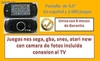 Consola portatil mp5, 2,000 juegos,conexion tv, Camara, Fm, Mp4, Micro sd