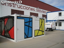 Construction Modulaire stand