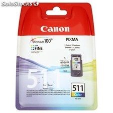 Consumible canon canon Cartucho cl-511Color MP240/540 Blister