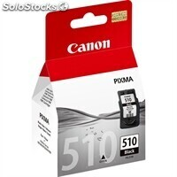 Consumible canon Cartucho pg-510 Negro MP240