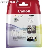 Consumible canon Cartucho PG510/CL511 MultiPack