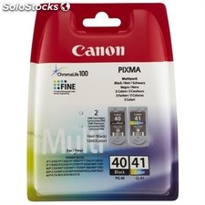 Consumible CANON PG-40/CL41 cartuchos tinta multipack (negro + color)