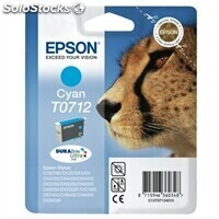 Consumible epson epson Cartucho Cyan T0712 Stylus DX4000
