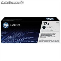 Consumible hewlett packard hp 12A (Q2612a) t