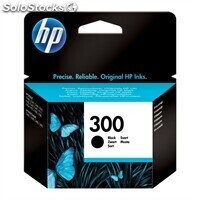 Consumible hewlett packard hp 300 CC640EE cartucho negro Deskjet/Photosmar