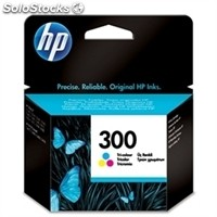 Consumible hewlett packard hp 300 CC643EE cartucho tricolor Deskjet/Photosmar