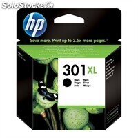 Consumible hewlett packard hp 301XL Cartucho Negro CH563EE