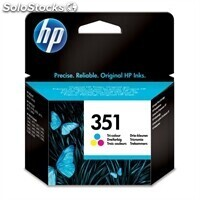 Consumible hewlett packard hp 351 CB337EE cartucho tricolor Officejet/Photosm