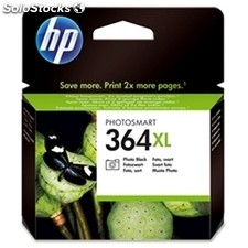 Consumible hewlett packard hp 364XL CB322EE cart.fotogr. negro alta capacidad
