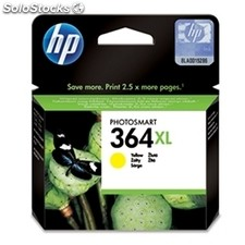 Consumible hewlett packard hp 364XL CB325EE cartucho amarillo alta capacidad