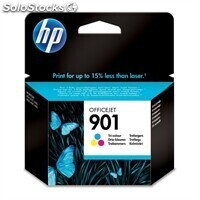 Consumible hewlett packard hp 901 CC656AE cartucho tricolor Officejet