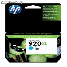 Consumible hewlett packard hp 920XL cartucho Cian Officejet serie 6000/6500