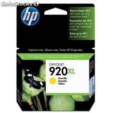Consumible hewlett packard hp 920XL CD974AE cartucho amarillo Officejet
