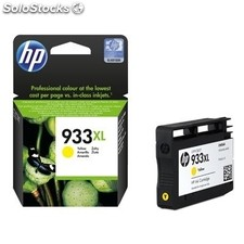 Consumible hewlett packard hp 933XL Cartucho Amarillo CN056AE Officejet 6100
