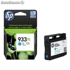 Consumible hewlett packard hp 933XL Cartucho Cyan CN054AE Officejet 6100-700