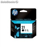 Consumible hewlett packard hp no.21 Cartucho Negro C9351AE psc 1410