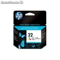 Consumible hewlett packard hp no.22 Cartucho Color C9352AE psc 1410