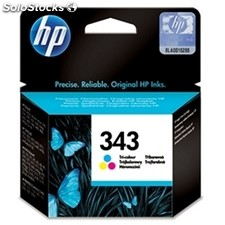 Consumible hewlett packard hp no.343 Cartucho Tricolor C8766EE (7ml)