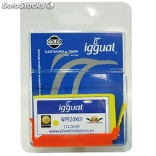 Consumible iggual Cartucho Reciclado Amarillo hp CD974A