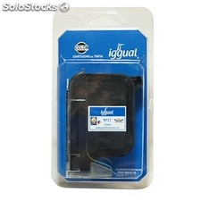 Consumible iggual Cartucho Reciclado Color hp C6625A n.17