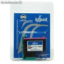 Consumible iggual Cartucho Reciclado Color hp CC644E-300XL