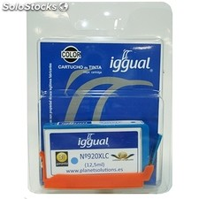 Consumible iggual Cartucho Reciclado Cyan hp CD972A