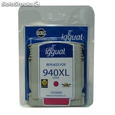 Consumible iggual Cartucho Reciclado magenta hp 940XL m