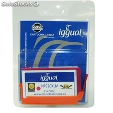 Consumible iggual Cartucho Reciclado Magenta hp CD973A