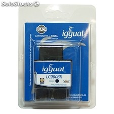 Consumible iggual Cartucho Reciclado Negro brother lc-900B
