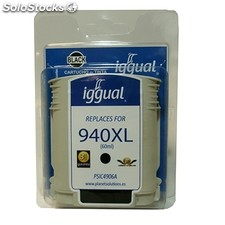 Consumible iggual Cartucho Reciclado Negro hp 940XL b