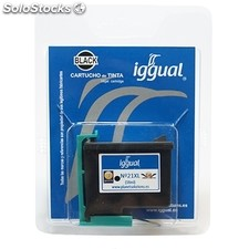 Consumible iggual Cartucho Reciclado Negro hp C9351C- 21XL