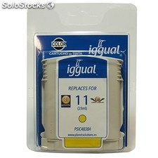Consumible iggual Cartucho Reciclado Yellow hp C4838A