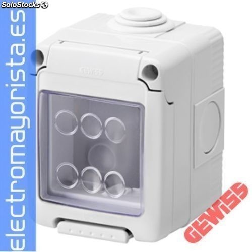 Cont.combi system 55 2MOD.IP55 gewiss Referencia: GW27042