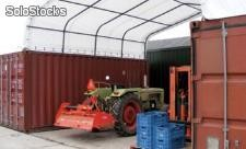 Container Überdachung Lager Zelt