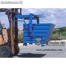 Contenedor basculante apilable 925(h)*800*1200 mm.