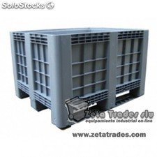 Contenedor industrial 760(h)*1000*1200 mm.