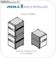 Contenedor Isotermico con ruedas > Roll container Isotermo