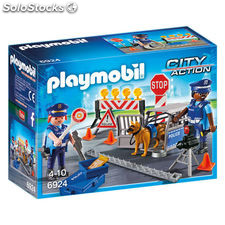 Control de Policia Playmobil City Action