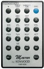 Control remoto universal para autoestereos Kenwood