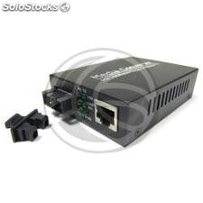 Converter 100 Mbps fiber optic single-mode 40Km SC to RJ45 (UF03)